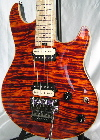 Lava Orange Custom Shop HP CT Special guitar with matching headstock  stunning